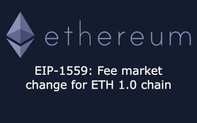 EIP-1559: Fee market change for ETH 1.0 chain